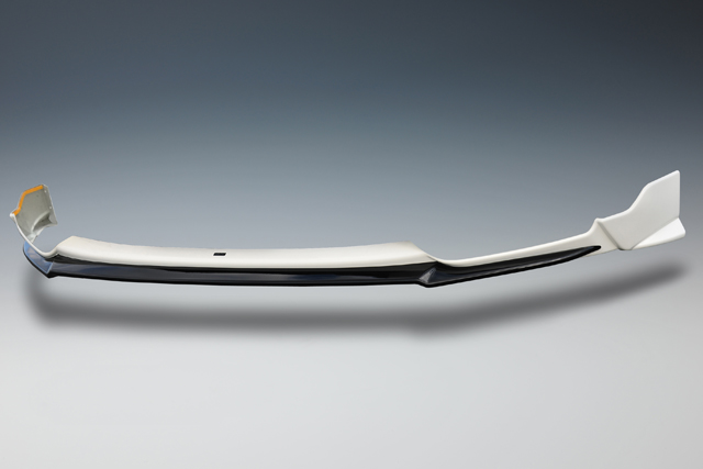 取�サービス品 フィットハイブリッド GP5/6 グレード:Sパッケージ/RS エアロ3点セット メーカー塗装済 サンセットオレンジII/ブラック ツートン
